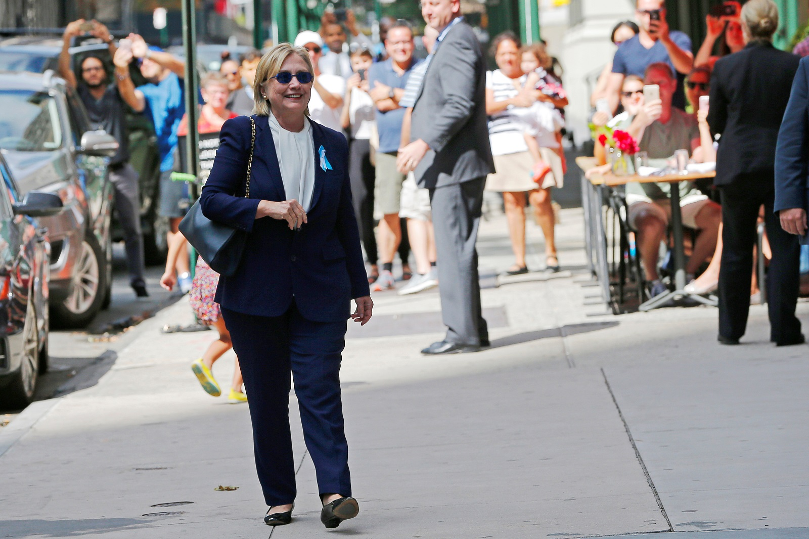 Hillary Clinton New York 11 September 2016