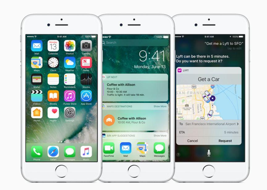 iOS 10 OTA update
