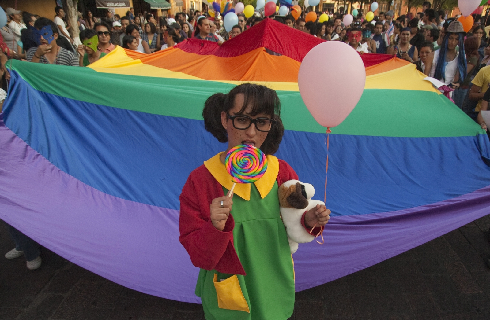 Same-sex marriage march in Mexico