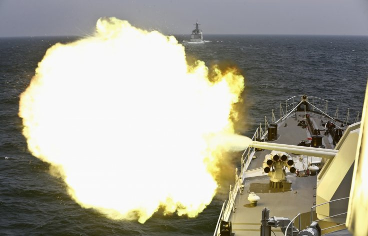 China Russia joint military drill