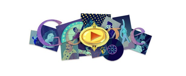 Animation Gift from Google to Freddy Mercury
