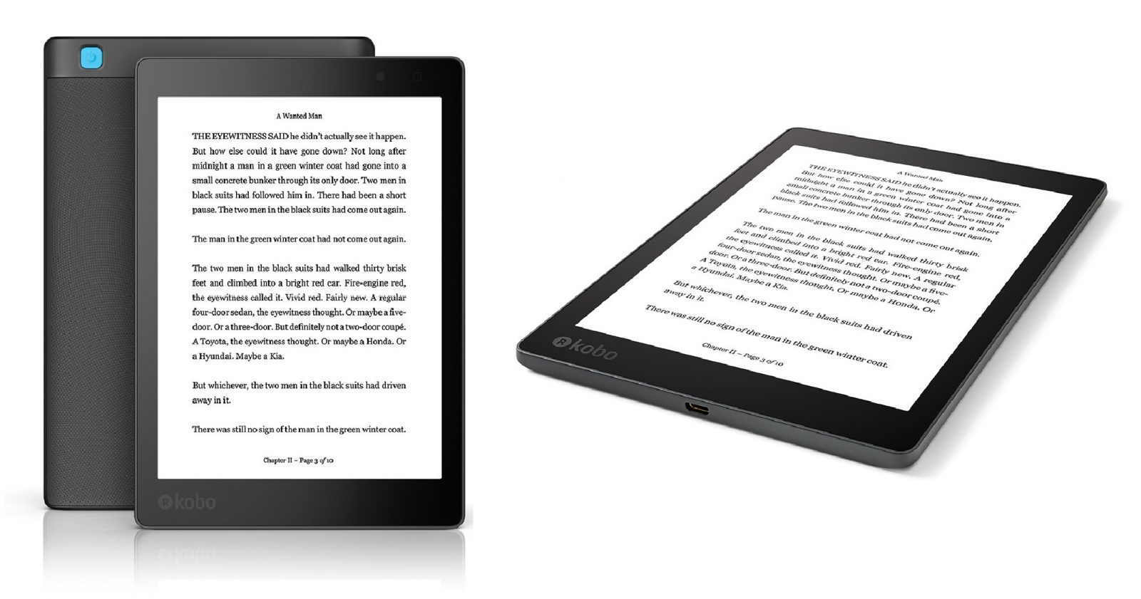 Kobo Aura One ebook reader