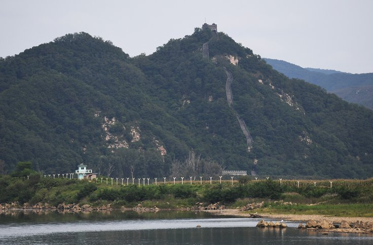 North Korea-china border