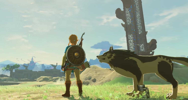 Zelda Wolf Link NX