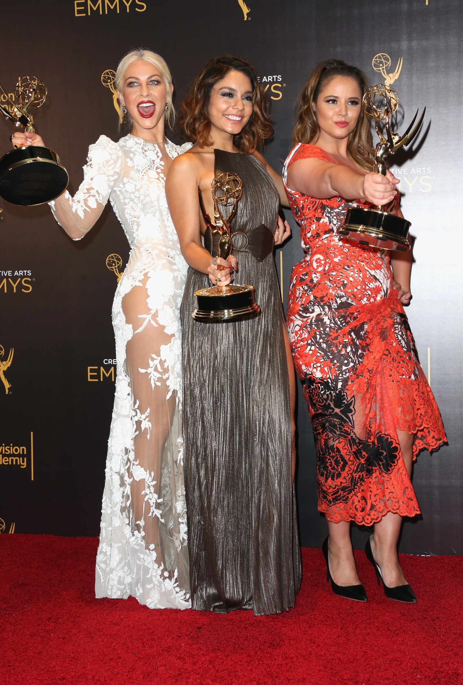 Julianne Hough, Vanessa Hudgens and Kether Donohue