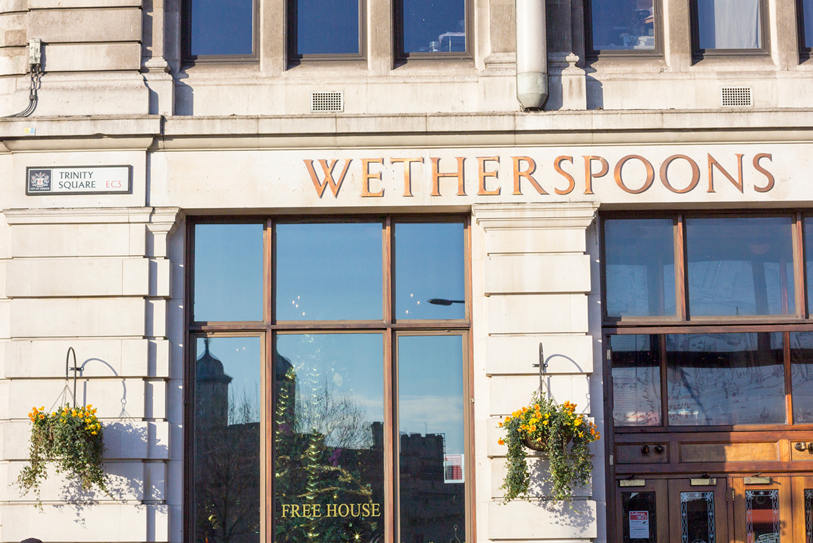 Brexit Hits JD Wetherspoon As Sales Growth Slows