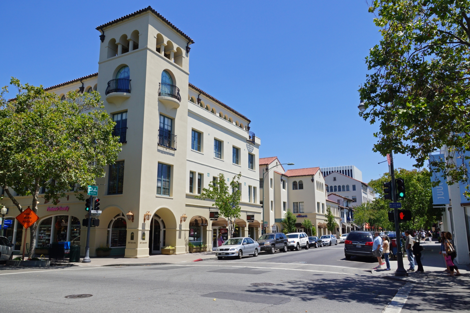 Downtown Palo Alto