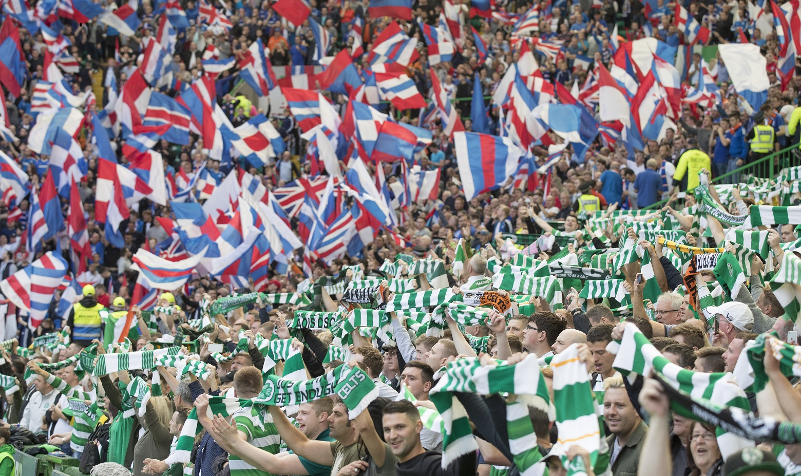 Old Firm arrests down