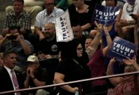 Trump protester Asheville NC