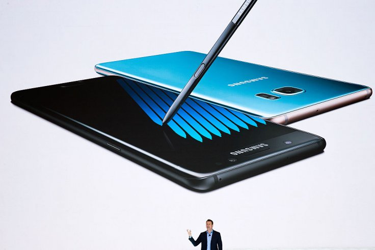 The Galaxy Note 7 unveiling