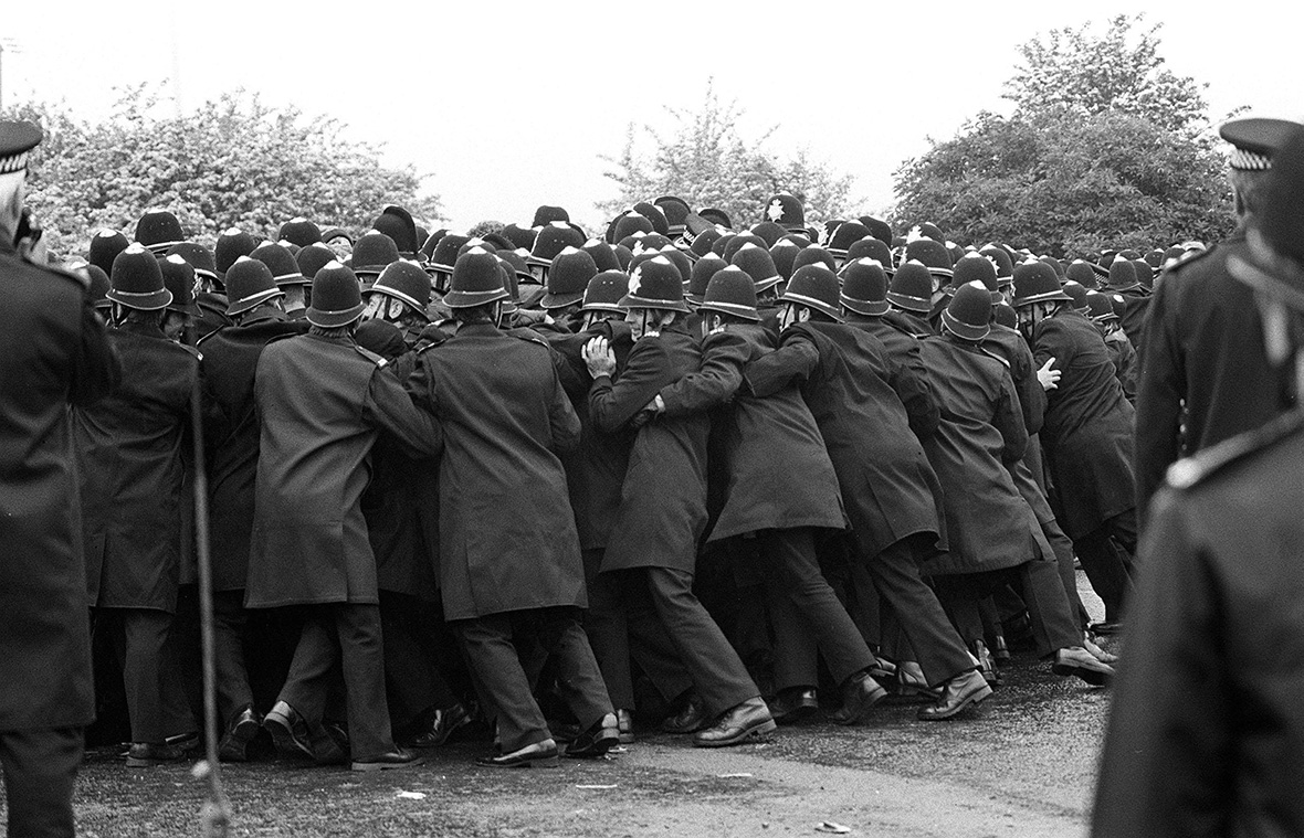 Miners strike Orgreave