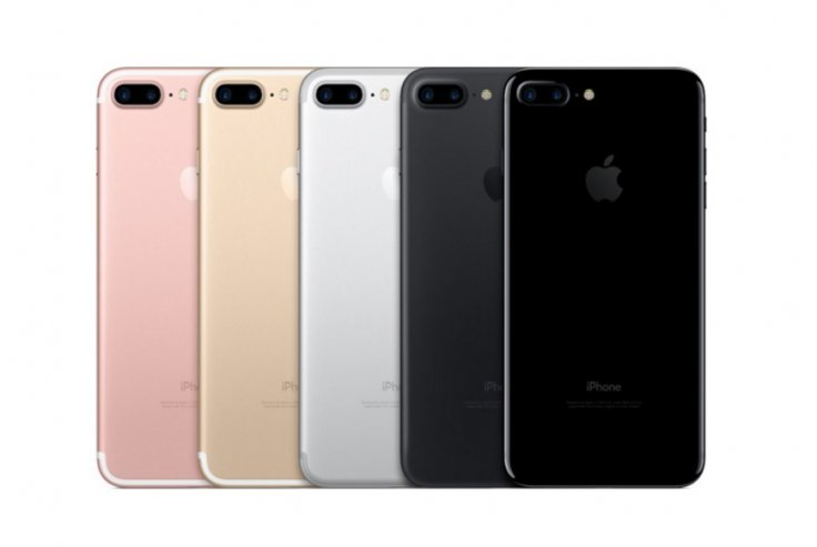 iPhone 7 Plus colours