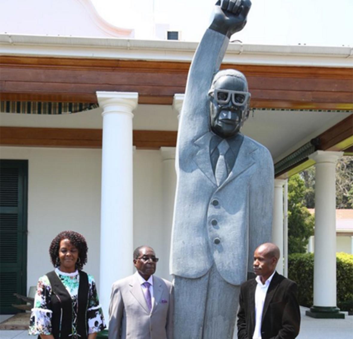 Robert Mugabe statue