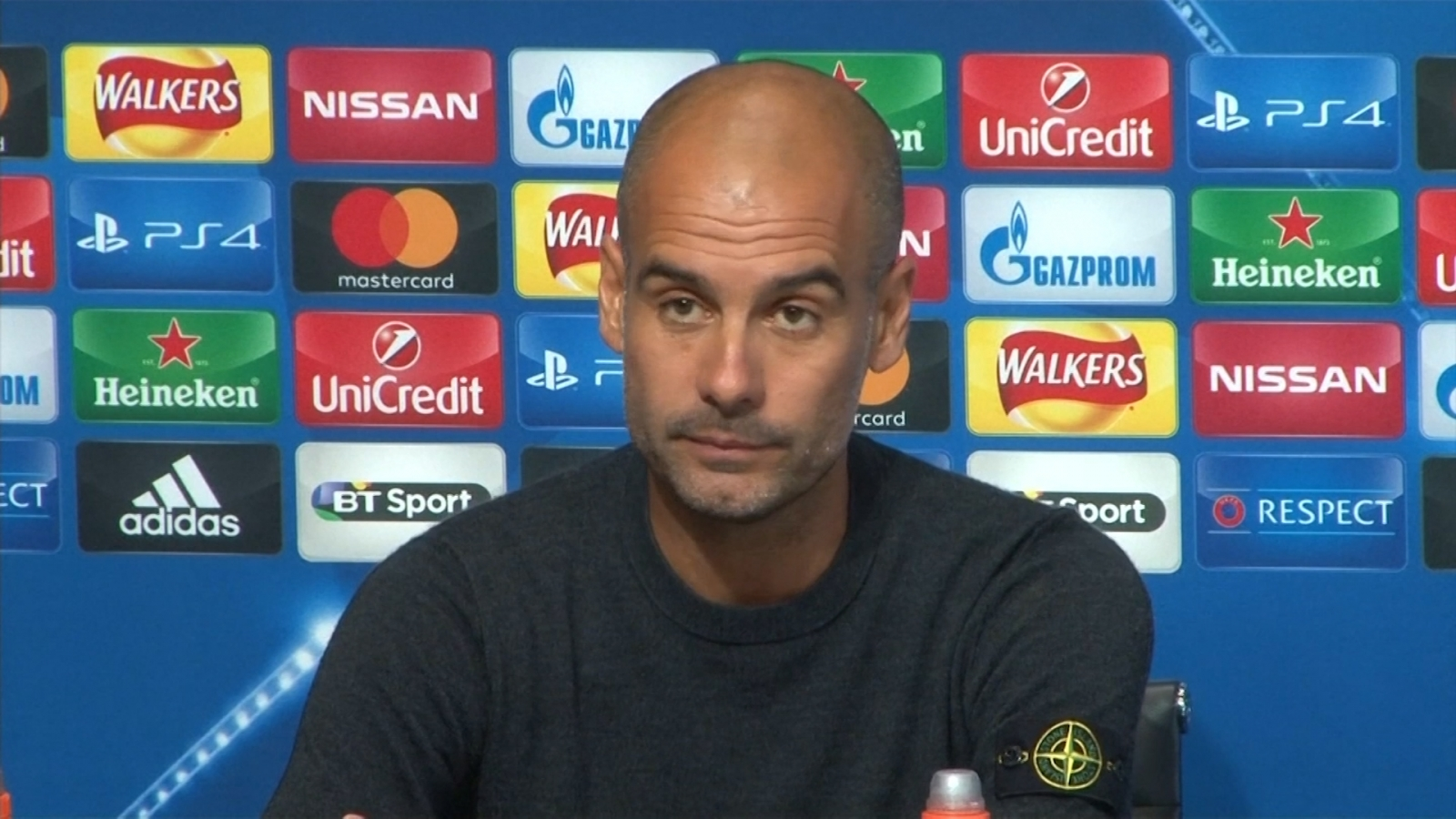 Pep Guardiola says Man City far away
