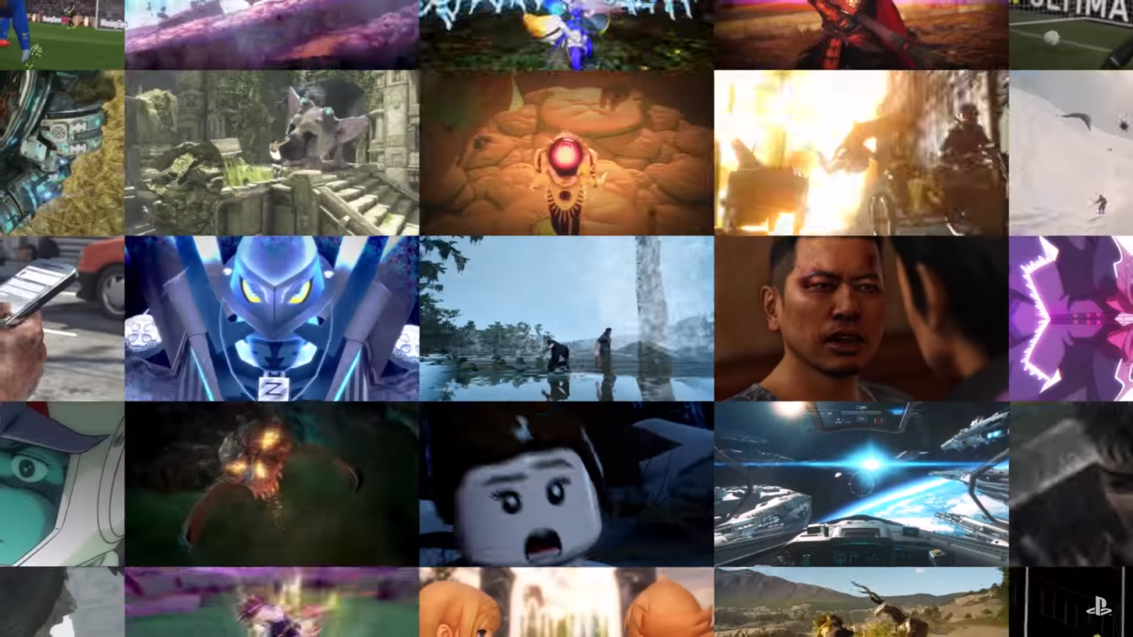 PS4 Games montage TGS 2016