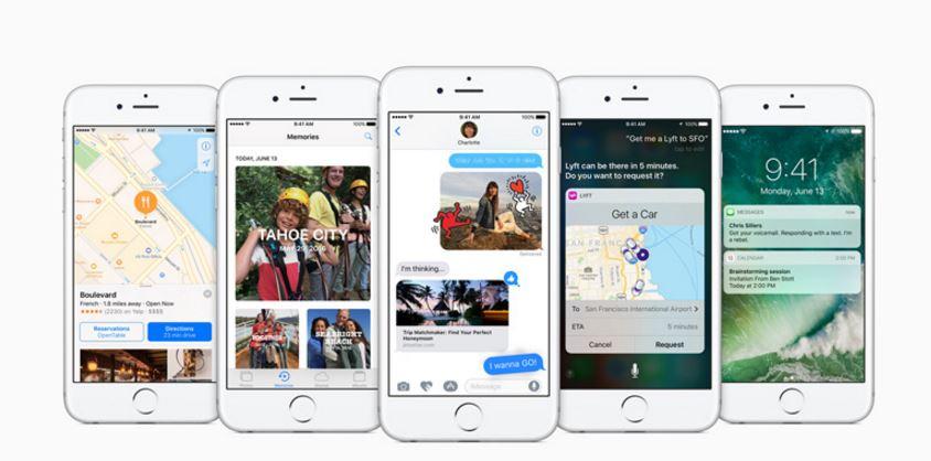 Apple releases iOS 10