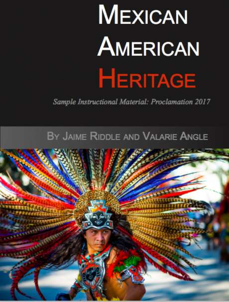 Mexican American Heritage textbook