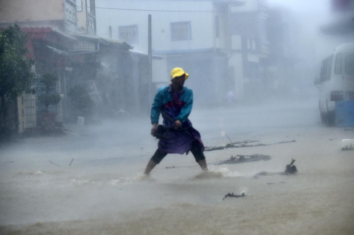 Typhoon Meranti Taiwan