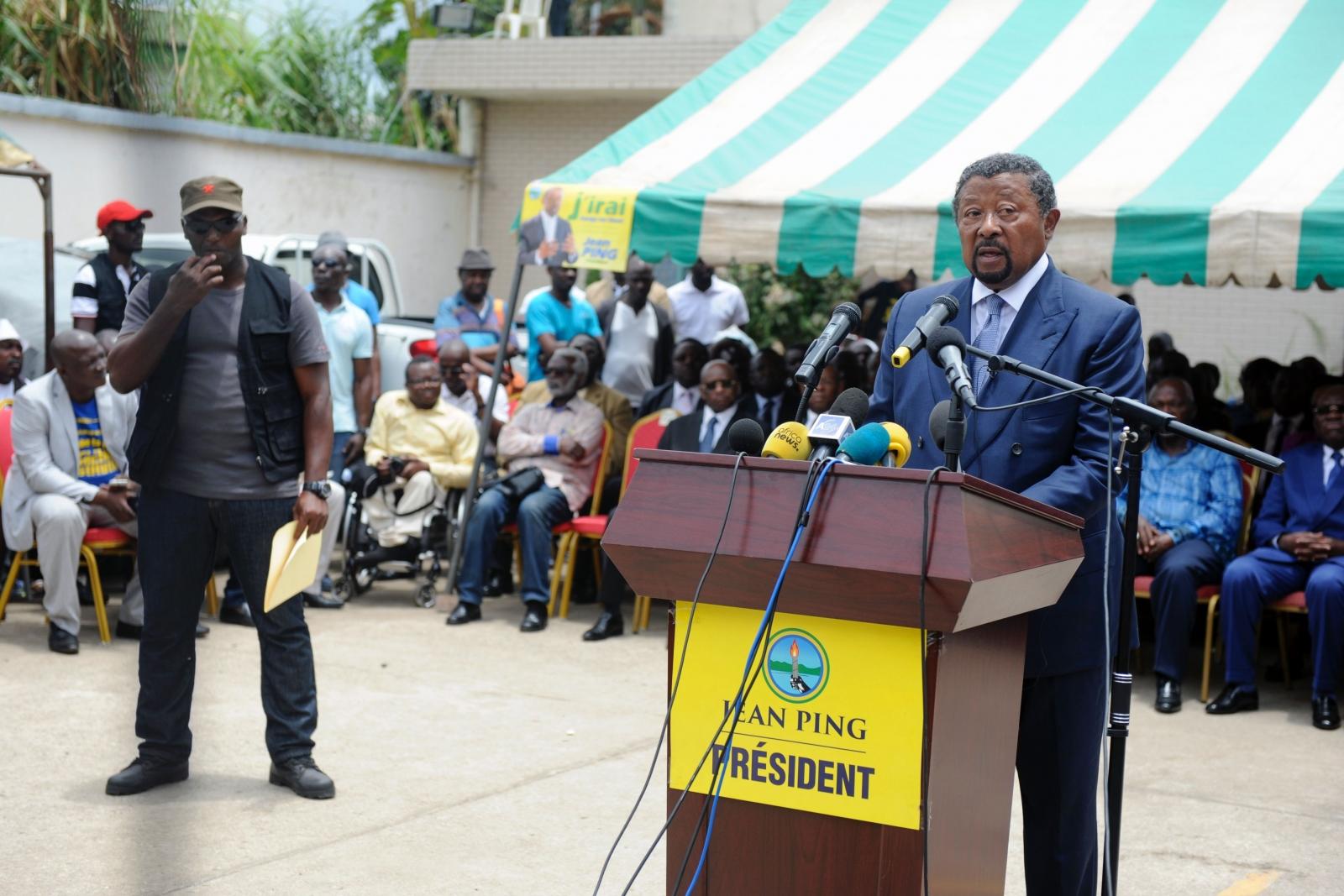Gabon's opposition leader Jean Ping