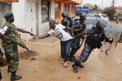 Uganda police abuse