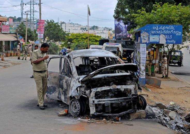 Bengaluru riots Cauvery row