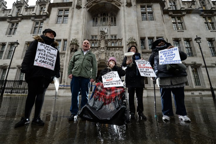 bedroom tax protesters supreme court