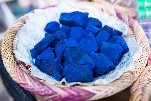 old indigo dye