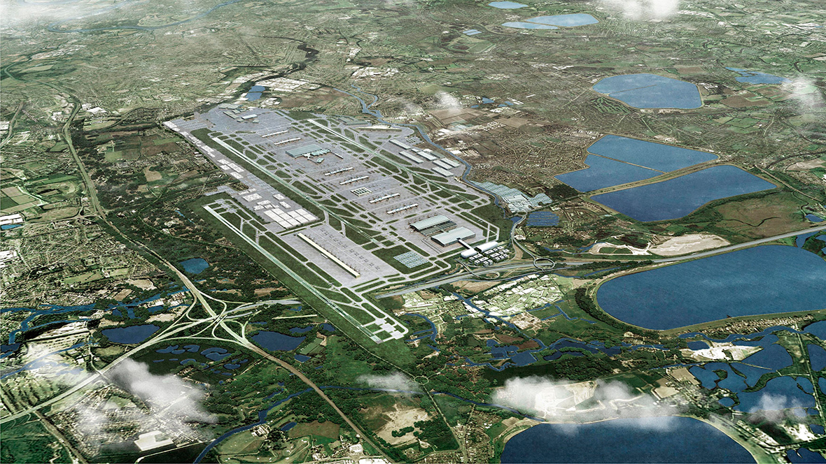 Heathrow Airport third runway