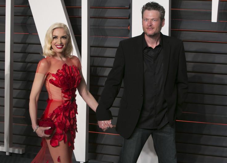 Gwen Stefani and Blake Shelto