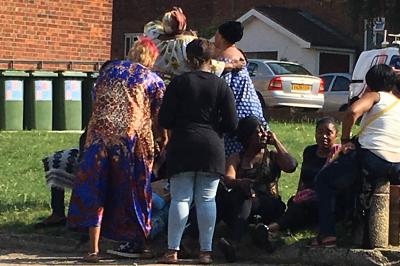 East Finchley murder scene