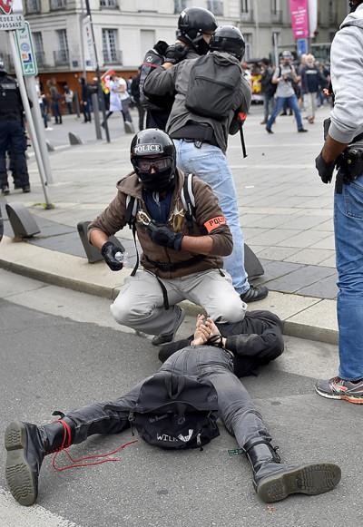France labour reform protest