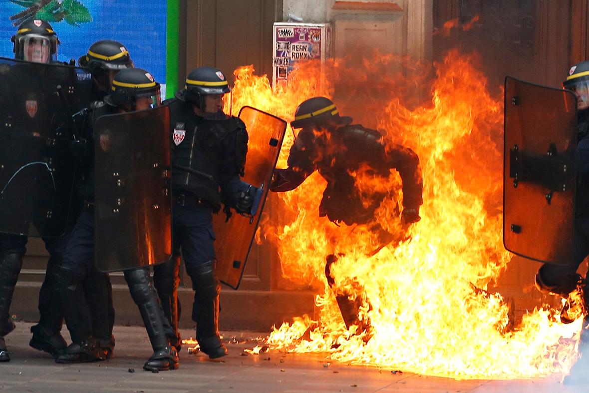 Fransa: Grev Yeniden, Militan Gençlik Hareketi En Önde