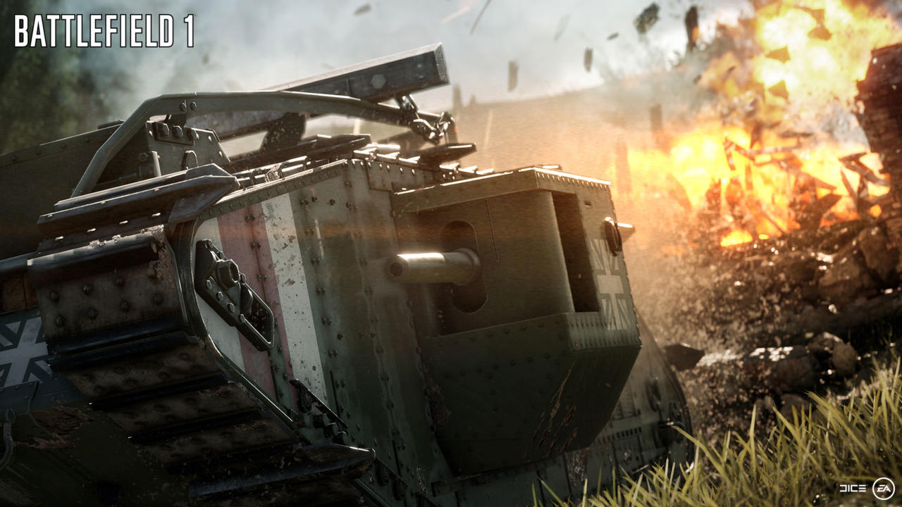 Battlefield 1's First Free Map Details Revealed by DICE