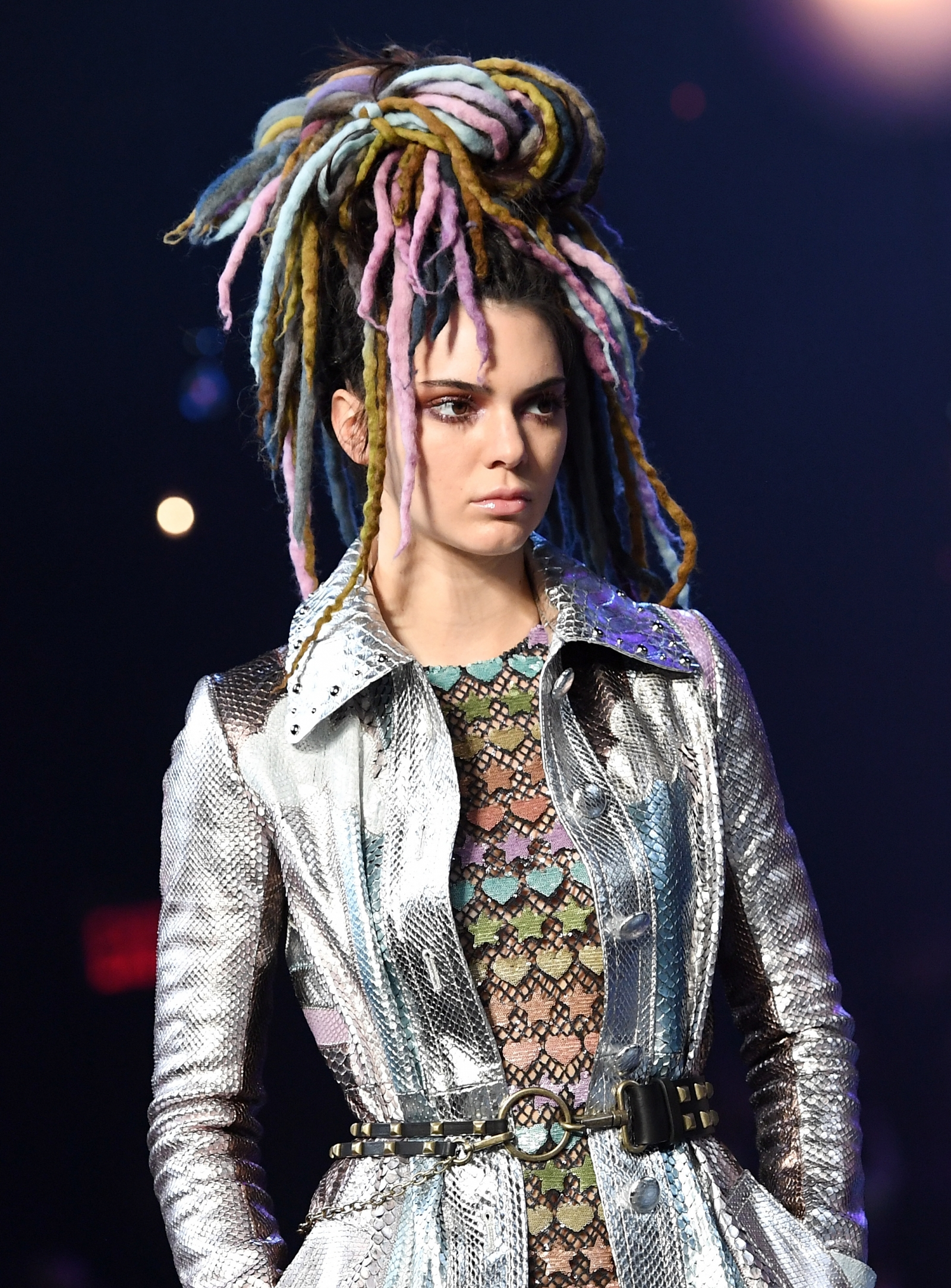 marc jacobs nyfw dreadlocks