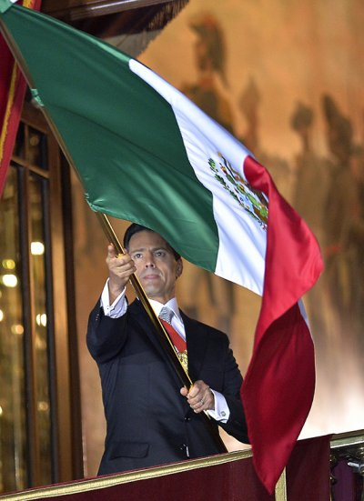 Mexico Independence Pena Nieto