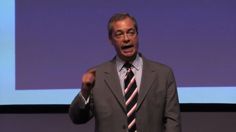 Nigel Farage bows out as Ukip leader