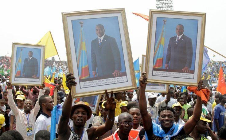 DRC election protest