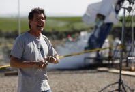 Eddie Braun tests his rocket