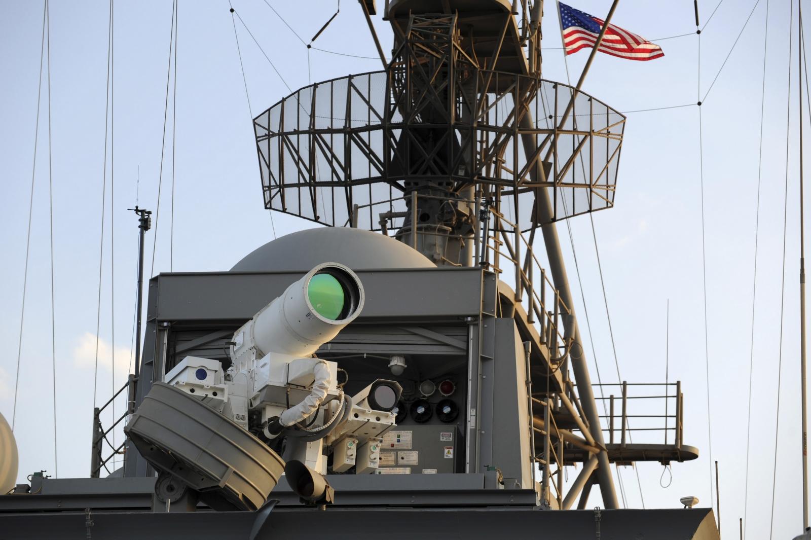 US Navy laser weapon