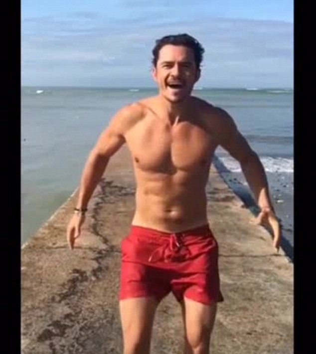 Hollywood Star Orlando Bloom Pokes Fun At Naked Photos As He Goes -8760