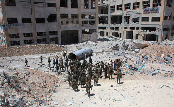 Syrian or Russian warplanes bomb Aleppo, casualities reported -monitor