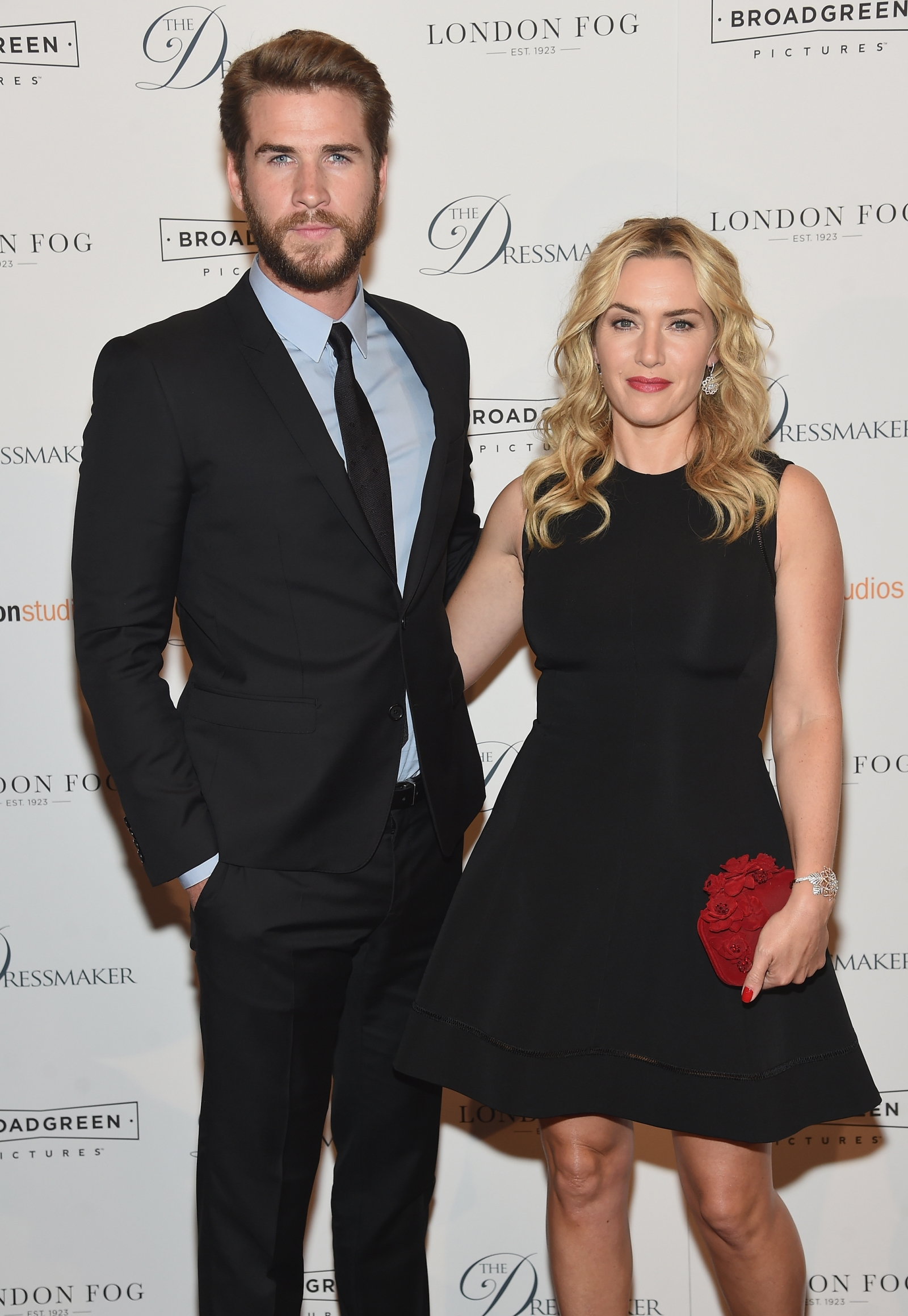 Liam Hemsworth and Kate Winslet