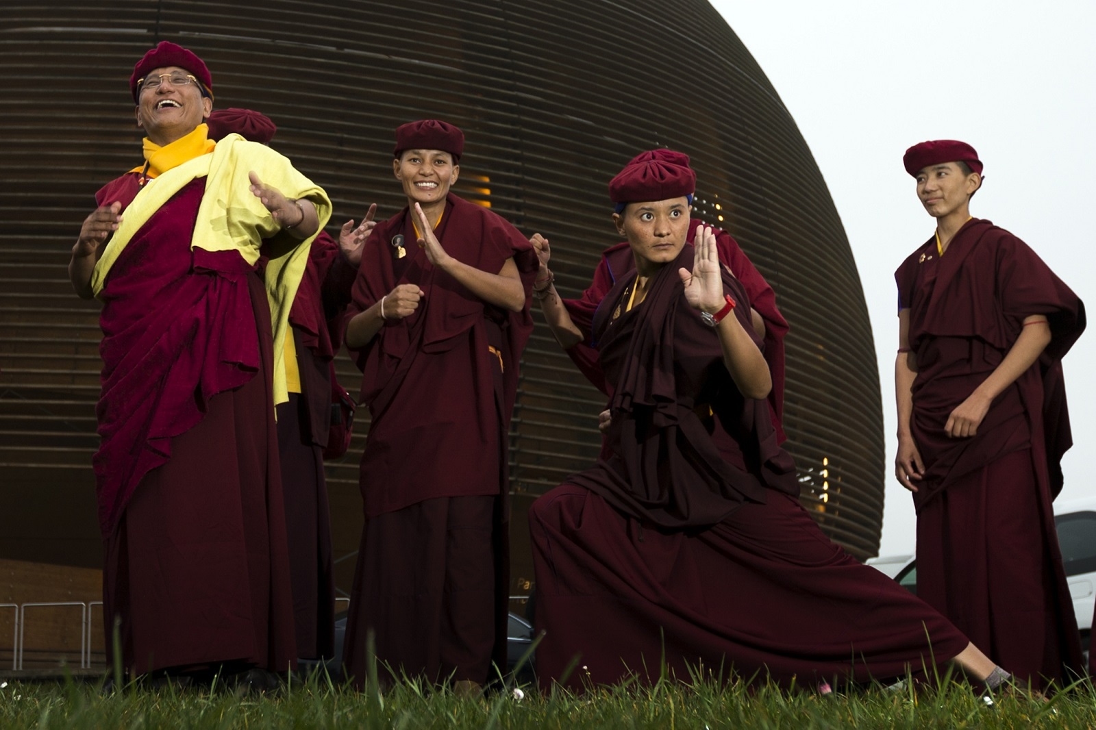 Drukpa kung fu nuns CERN 2012