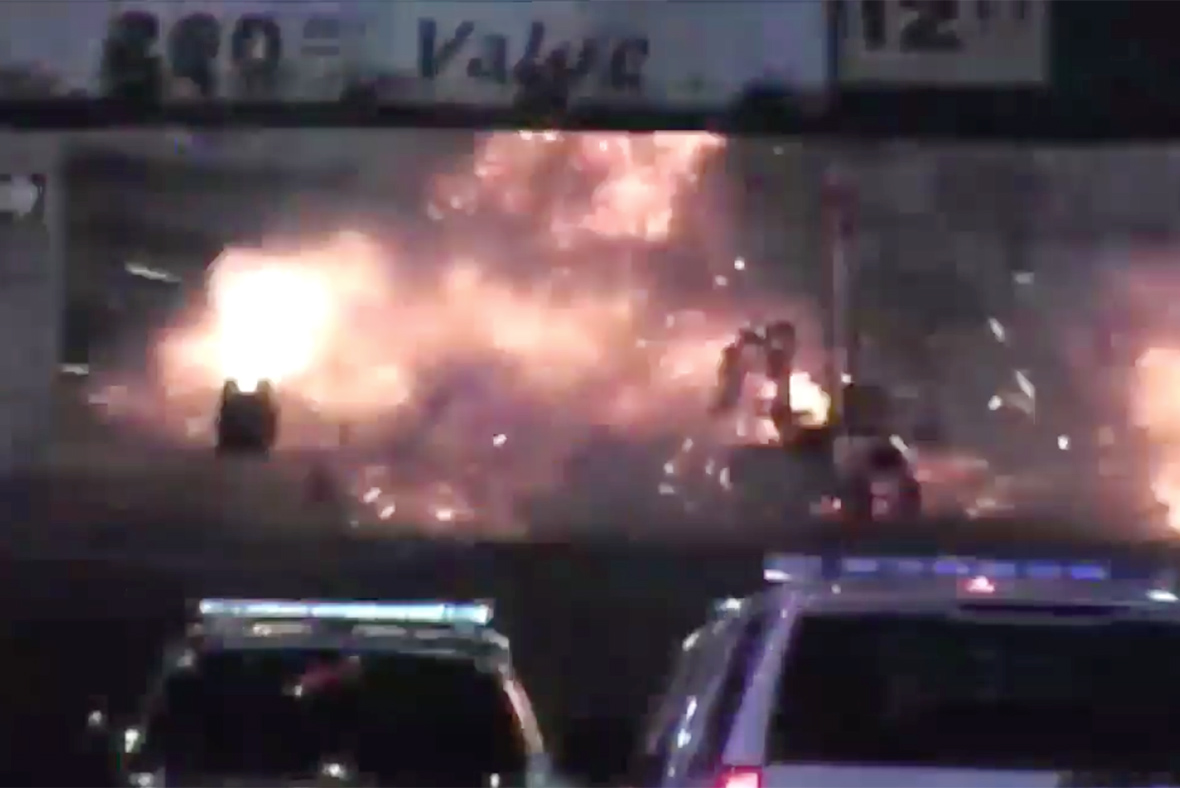 Elizabeth station explosion