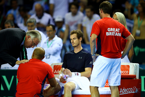Andy Murray is desperate for rest after Davis Cup exit