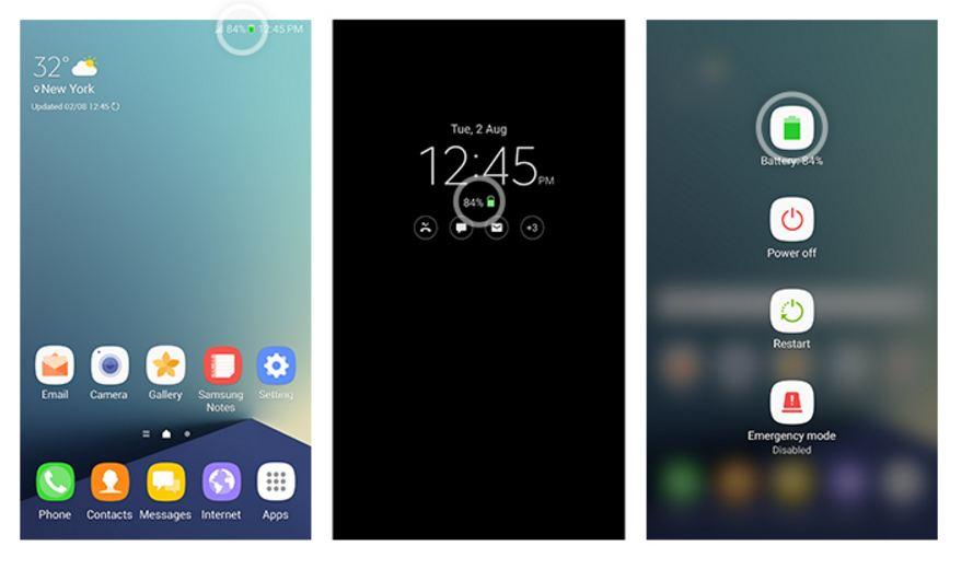 Identify new Galaxy Note 7