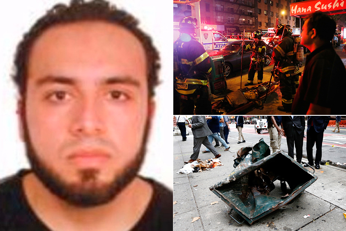 ahmad khan rahami images of new york and new jersey bombing suspect