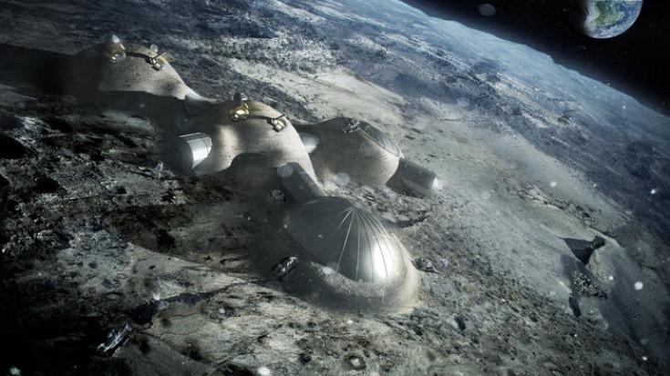 moon village esa