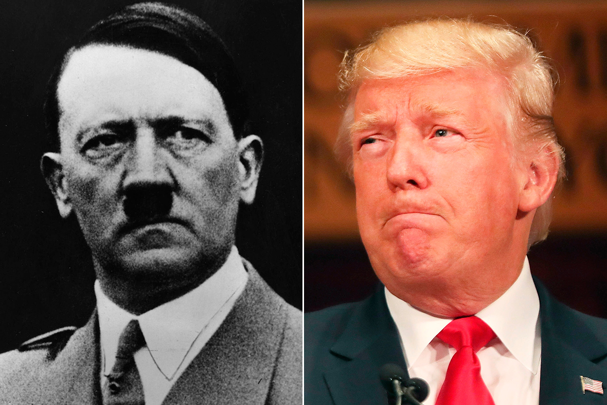 Image result for trump hitler