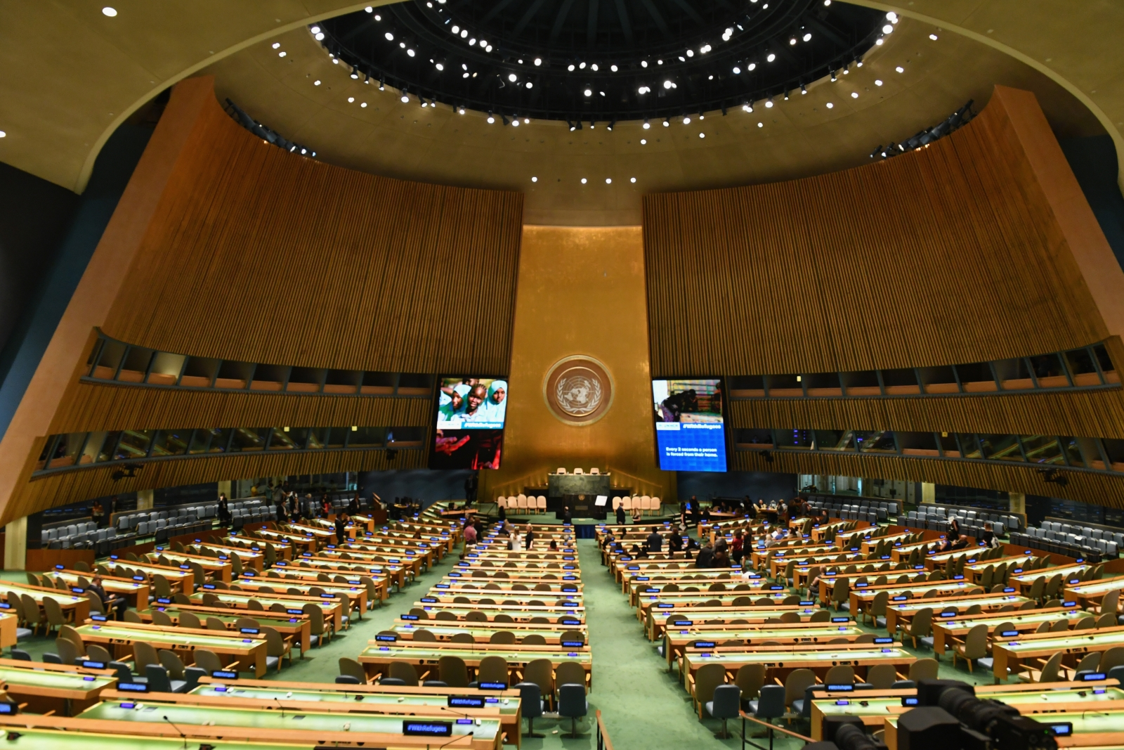 View of the General Assembly Hall